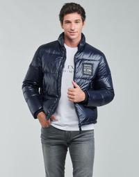 Vêtements Homme Doudounes Armani Exchange 8NZBP3 Marine