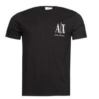 Vêtements Homme T-shirts manches courtes Armani Exchange 8NZTPH Noir