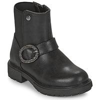 Chaussures Fille Boots Gioseppo LONTZEN Noir