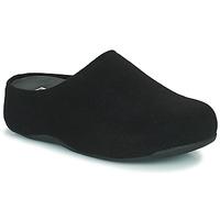 Chaussures Femme Sabots FitFlop SHUV FELT Noir