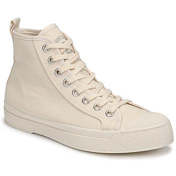 Chaussures Femme Baskets montantes Bensimon STELLA B79 Beige
