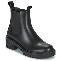 Chaussures Femme Boots Lumberjack RAMONE BEATLES Noir