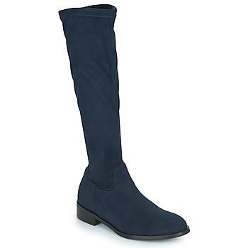 Chaussures Femme Bottes ville JB Martin AMOUR Bleu