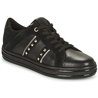 Chaussures Femme Baskets basses Geox LEELU Noir