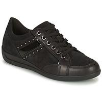 Chaussures Femme Baskets basses Geox MYRIA Noir