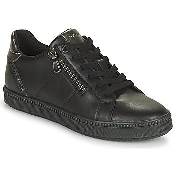 Chaussures Femme Baskets basses Geox BLOMIEE Noir