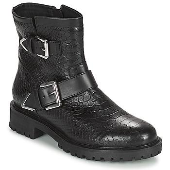 Chaussures Femme Bottines Geox HOARA Noir