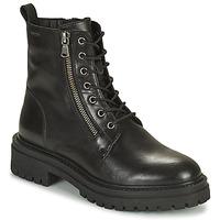Chaussures Femme Bottines Geox IRIDEA Noir