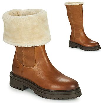 Chaussures Femme Boots Geox IRIDEA Marron