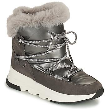 Chaussures Femme Bottes de neige Geox FALENA ABX Gris