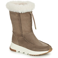 Chaussures Femme Bottes de neige Geox FALENA ABX Beige