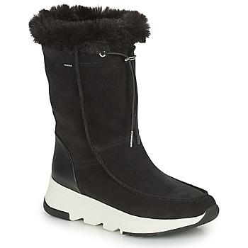 Chaussures Femme Bottes de neige Geox FALENA ABX Noir
