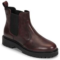Chaussures Femme Boots Geox BLEYZE Bordeaux