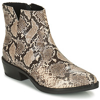 Chaussures Femme Boots Geox TEOCLEA Beige