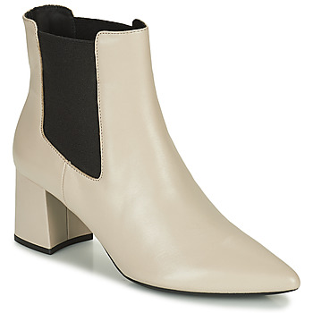 Chaussures Femme Bottines Geox BIGLIANA Beige