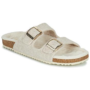 Chaussures Femme Chaussons Geox BRIONIA Beige
