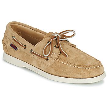 Chaussures Femme Chaussures bateau Sebago PORTLAND FLESH OUT W Beige
