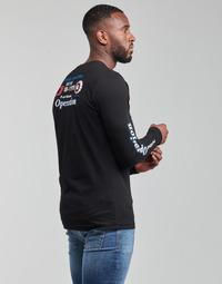 Vêtements Homme T-shirts manches longues Diesel T-DIEGOS-LS-K25 Noir