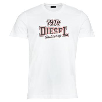 Vêtements Homme T-shirts manches courtes Diesel T-DIEGOS-K26 Blanc