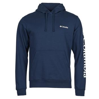 Vêtements Homme Sweats Columbia VIEWMONT II SLEEVE GRAPHIC HOODIE Marine / Blanc
