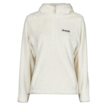 Vêtements Femme Polaires Columbia BUNDLE UP HOODED PULLOVER Blanc