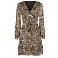 Vêtements Femme Robes courtes Les Petites Bombes CECILIE Leopard