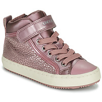 Chaussures Fille Baskets montantes Geox KALISPERA Rose