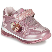 Chaussures Fille Baskets basses Geox TODO Rose