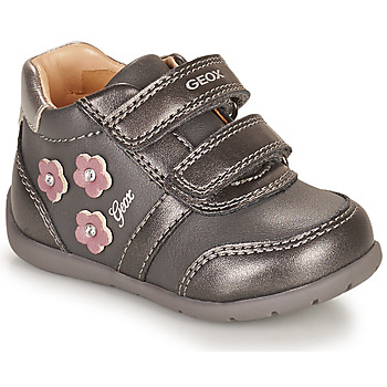 Chaussures Fille Baskets basses Geox ELTHAN Gris