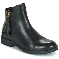 Chaussures Fille Boots Geox AGATO Noir