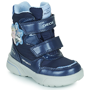 Chaussures Fille Bottes de neige Geox SVEGGEN ABX Marine