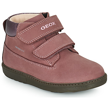 Chaussures Fille Boots Geox HYNDE WPF Rose