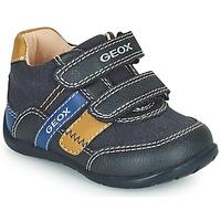 Chaussures Garçon Baskets basses Geox ELTHAN Marine