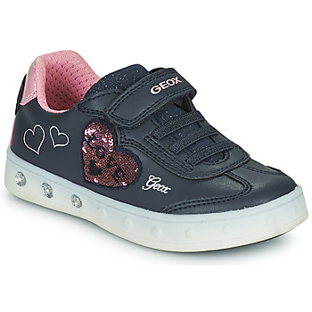 Chaussures Fille Baskets basses Geox SKYLIN Marine