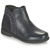 Chaussures Fille Boots Geox SHAWNTEL Marine