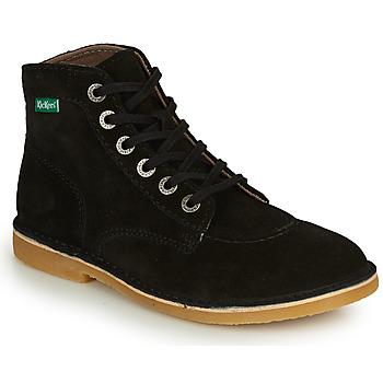 Chaussures Femme Boots Kickers ORILEGEND Noir