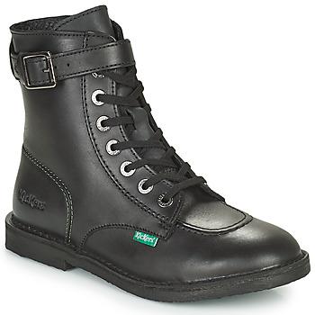Chaussures Femme Boots Kickers KICK TREND Noir