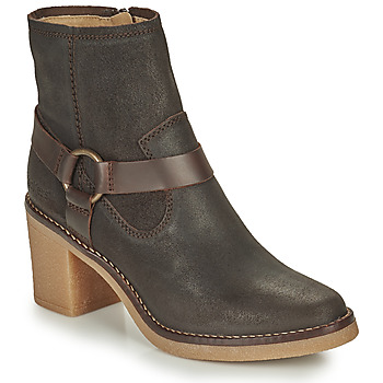 Chaussures Femme Bottes ville Kickers AVECOOL Marron