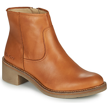 Chaussures Femme Bottines Kickers OXYBOOT Camel