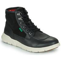 Chaussures Homme Boots Kickers KICKI HI 4 Noir