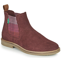 Chaussures Femme Boots Kickers TYGA Bordeaux