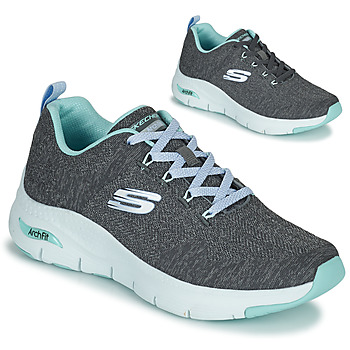 Chaussures Femme Baskets basses Skechers ARCH FIT Gris / Bleu