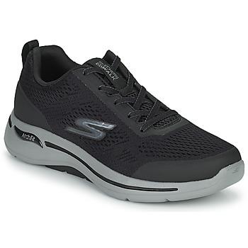Chaussures Homme Baskets basses Skechers GO WALK ARCH FIT Noir