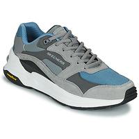 Chaussures Homme Baskets basses Skechers GLOBAL JOGGER Gris / Bleu