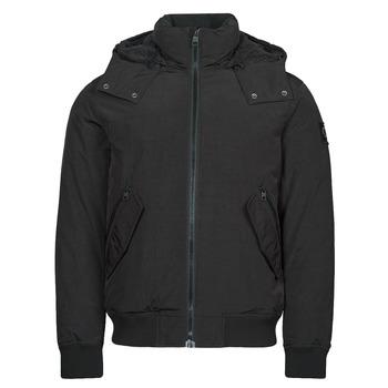Vêtements Homme Parkas Calvin Klein Jeans SHERPA LINED SHORT JACKET Noir