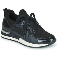 Chaussures Femme Baskets basses Remonte Dorndorf ANITAS Noir / Blanc