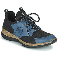 Chaussures Femme Baskets basses Rieker MEDONNA Bleu / Noir