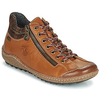 Chaussures Femme Boots Rieker KAMELO Marron