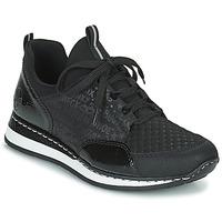 Chaussures Femme Baskets basses Rieker REGARDA Noir