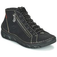 Chaussures Femme Boots Rieker MEMOIRA Noir
